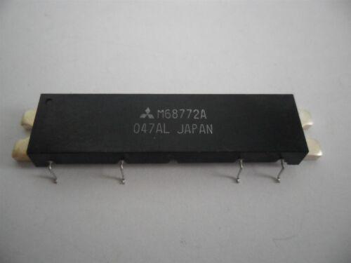 MITSUBISHI RF Power Module M68772A 890-915 MHz 13W FM Mobile 17V  50 ohms