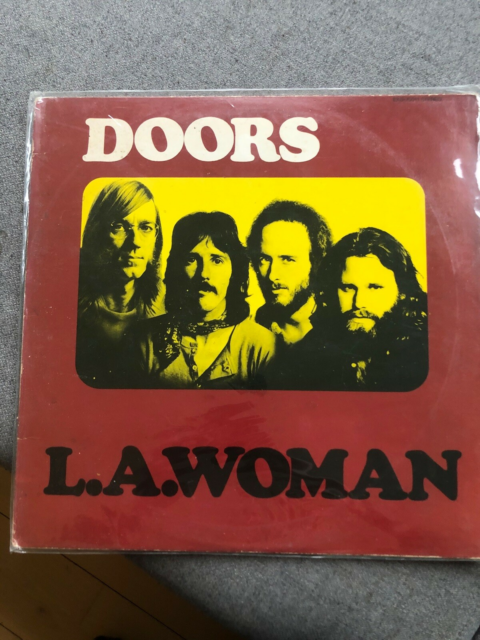 LP, The Doors, LA Woman, Rock, Us printing original from…