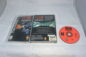 Kileak-The-DNA-Imperative-Sony-PlayStation-1-1995-Long-Box-Complete-in-Box