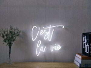 Image Is Loading New C 039 Est La Vie Neon Sign
