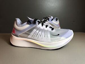 6c575b68ae10 NIKE ZOOM FLY BE TRUE WHITE PALEST PURPLE AR4348 105 SIZE 7.5