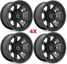 Black Wheels Rims Set 17 Fits Trd Tacoma 4runner 4 Runner 17x85 Trail Method Fits 2004 Toyota Tundra