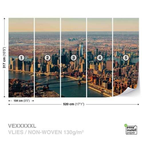 WALL MURAL PHOTO WALLPAPER XXL New York City Manhattan Skyline View JD-1241WS