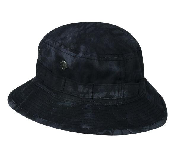 Outdoor Cap 411EX Kryptek Highlander Typhon Camo Boonie TacticalBush Hat L/XL D5