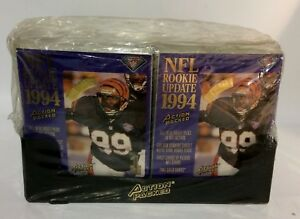1994-Action-Packed-ROOKIE-UPDATE-Football-factory-sealed-card-box-24packs