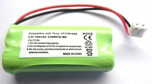 RECHARGEABLE-BATTERY-2-4V-COMPATIBLE-WITH-TOMY-TF525-Y7574UK-BABY-MONITOR