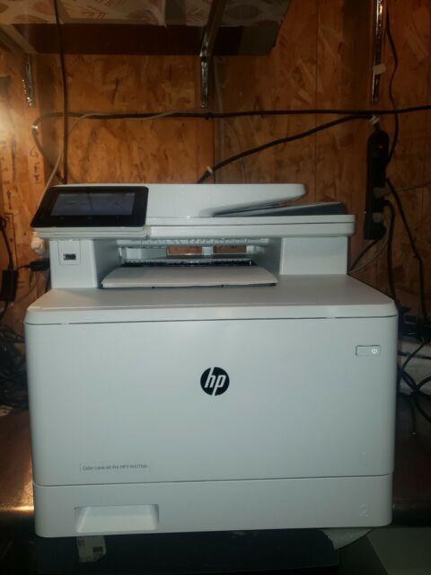 Hp Color Laserjet Pro Mfp M477fdn All In One Laser Printer For Sale Online Ebay