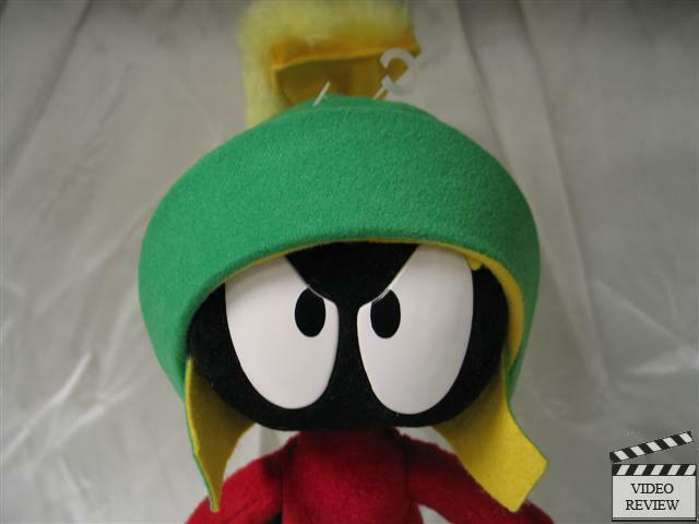 Marvin the Martian Martian Martian 11 inch poseable bendable doll, Looney Tunes; Applause NEW 431302