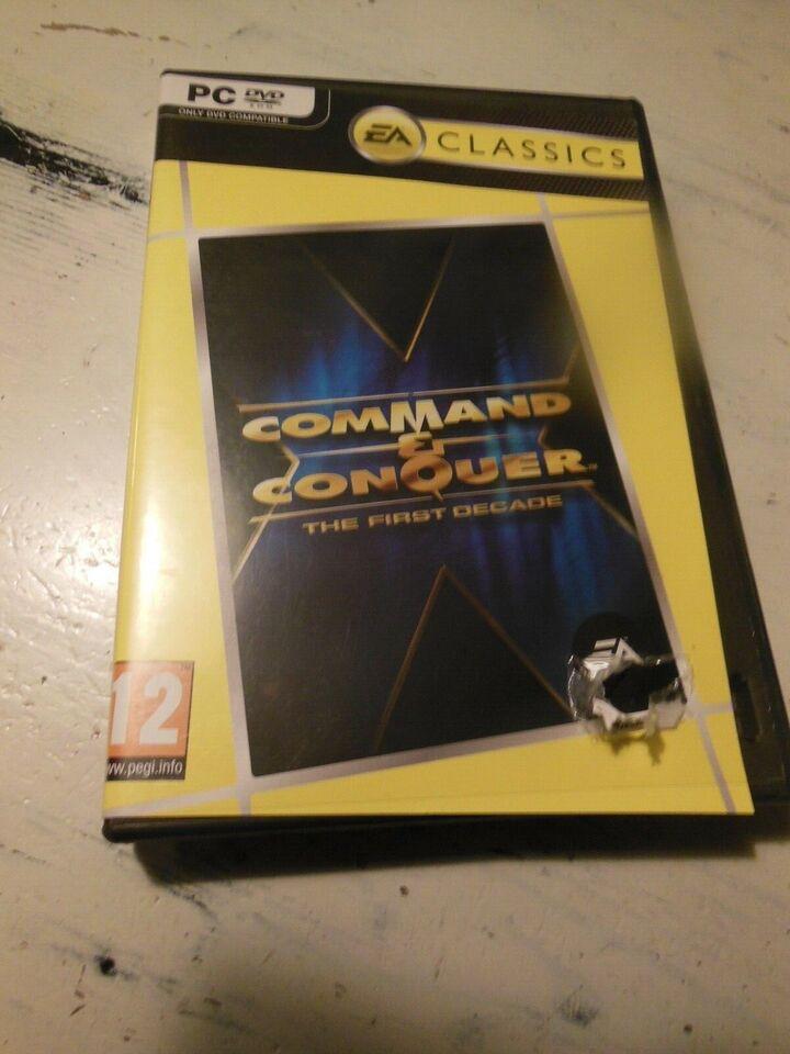 Command & Conquer, til pc, strategi