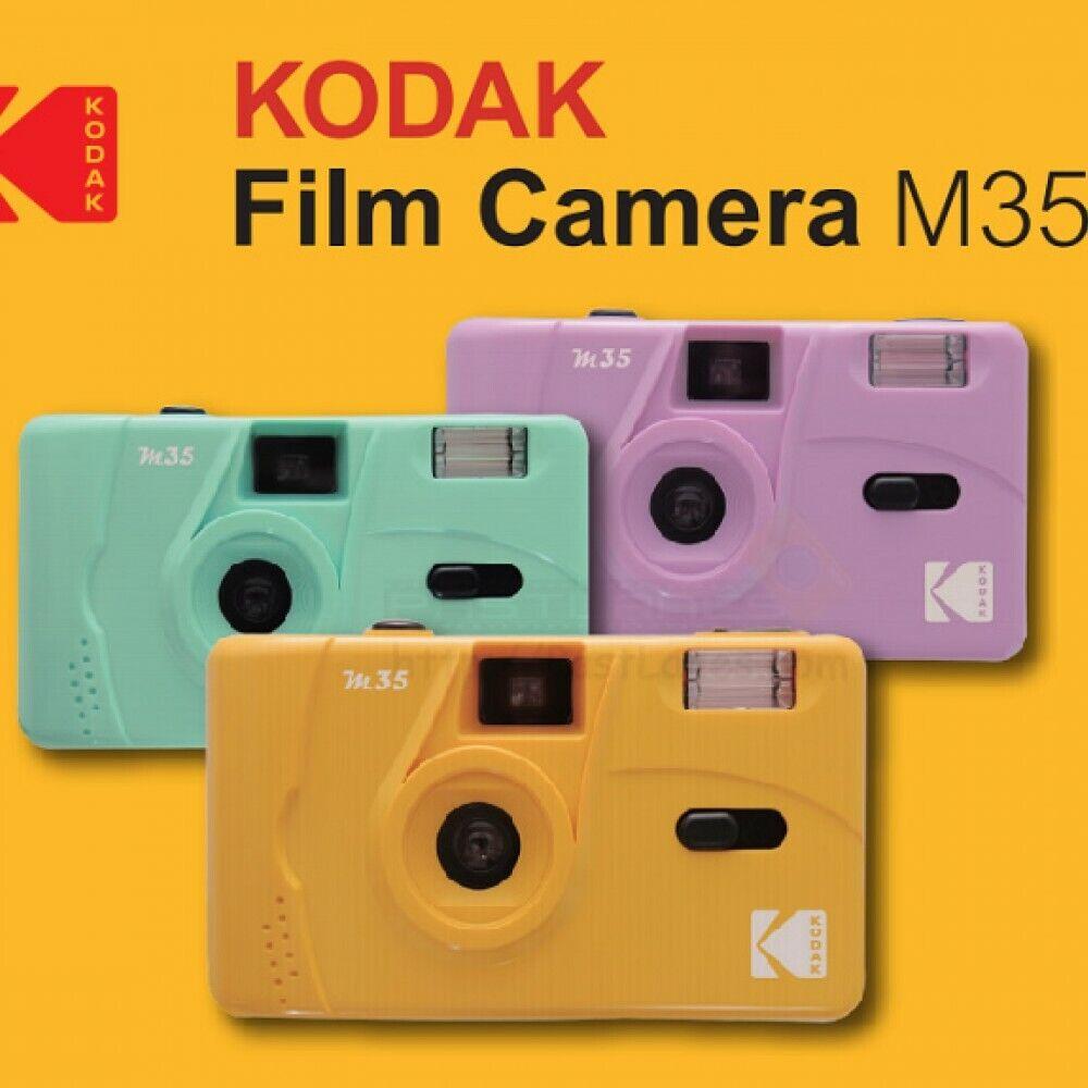 Image 11 - Kodak Vintage retro M35 35mm Reusable Film Camera / UltraMax 400 Film Bundle