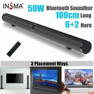 2in1-Kombiniert-50W-Lautsprecher-bluetooth-Heimkino-System-Soundbar-TV-Subwoofer