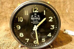 Vintage WEHRLE Alarm Clock 3 in 1 - Unique alarm clock made in West Germany #18