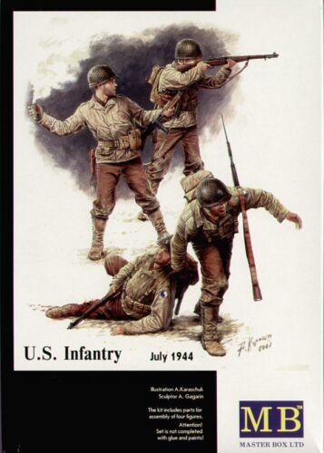 Master Box 1//35 US Infantry juillet 1944 # 3521 *