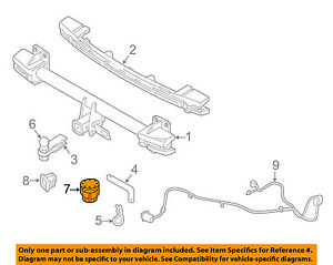 Details about VOLVO OEM 16-18 XC90 Trailer Hitch-Rear Bumper-Cap 31439260