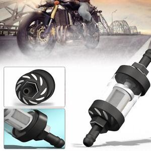Motorcyc-Gas-Fuel-Oil-Filter-Cnc-Connector-Fuel-Filter-For-Motocross-Atv-Blac-FE