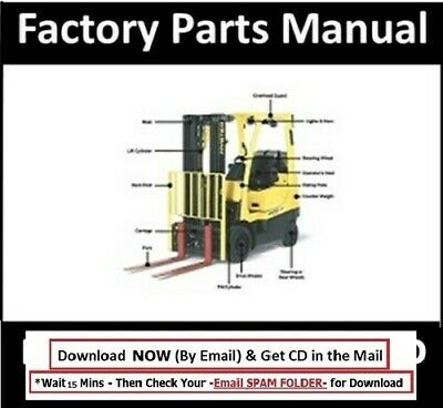 Hyster Forklift Parts Manual E45-50-55-60-65XM on CD | eBay | Hyster S120xms Forklift Wiring Diagram |  | eBay