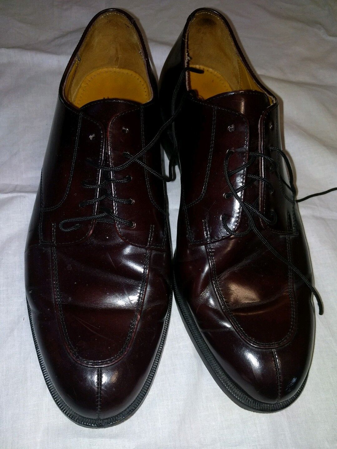 Cole Haan burgundy oxfords, 10 D, vguc, sharp