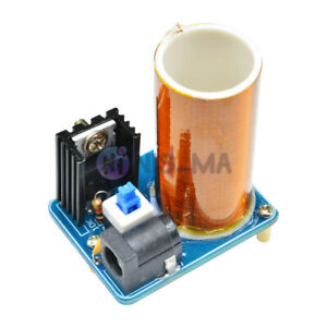 9-12V BD243 Mini Tesla Coil Electronics Wireless Transmission Module Assembled