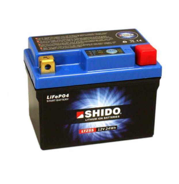 Shido LTZ5S Lithium Iones Batería YTZ5S YTZ5S-BS KTM Sx 450 505 XC 450 525 Quad