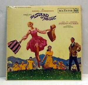 The-Sound-of-Music-OST-1965-UK-Mono-vinyl-LP-Booklet-RCA-RED-SEAL-RB6616