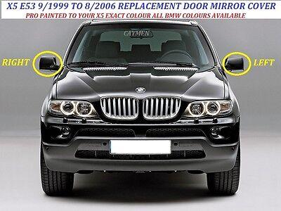 Bisel L//H O R//H Pintado cualquier BMW color 9//1999-8//06 BMW X5 Cubierta De Espejo Ala