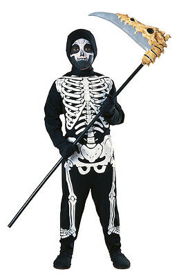 Rubies Halloween Child Skeleton Large Costume size 12-14 Fits 8-10 Years 881907