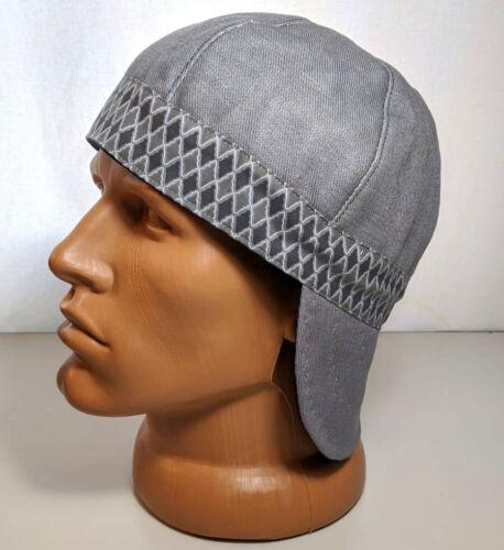 S-19 100/% Cotton Welding Cap Banded Diamonds Caps Reversible