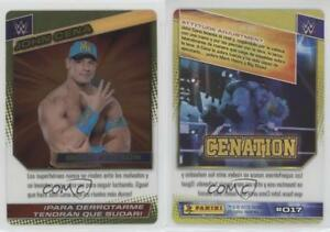 Details About 2015 Panini Wwe Wrestling Action Spanish 017 John Cena Rookie Card