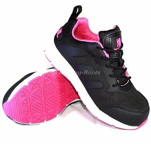 029e89451ca Details about Womens Ultra Lightweight Work Steel Toe Cap Ladies Safety  Shoe Trainer Boots Sz