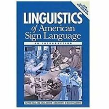Linguistics of American Sign Language : An Introduction by Clayton Valli, Kristin J. Mulrooney, Ceil Lucas and Miako Villanueva (2011, Hardcover / Mixed Media)