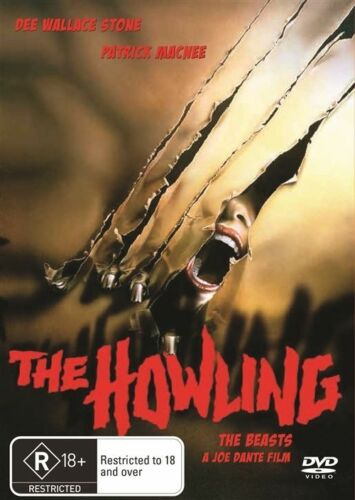 1 of 1 - The Howling - DVD LIKE NEW FREE POSTAGE AUSTRALIA REGION 4