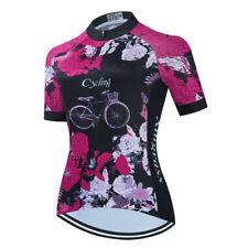 Women/'s Cycling Jersey Clothing Bicycle Sportswear Short Sleeve Bike Shirt J00