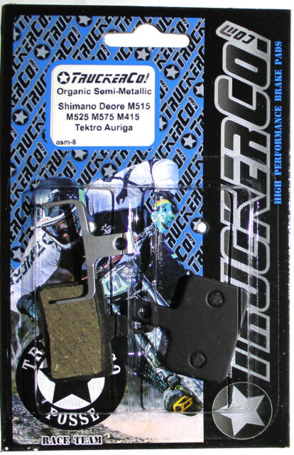 TruckerCo Brake Pads shimano Deore M575 BR M05 B01E01 m415 m445 m525 m515 osm8