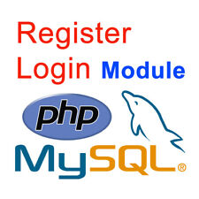 User Registration In Php Script With Login Module Form With Mysql Data Base