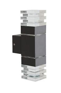 Fassadenleuchte-Aussenbeleuchtung-Wand-Strahler-IP44-Glas-Gut-Guenstig-LPZ-7-grau