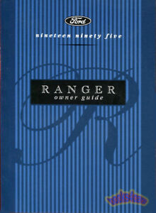 ranger owners manual ford 1995 pickup truck owner guide handbook ebay rh ebay com 1995 ford ranger owners manual pdf free 1995 Ford Ranger Fuse Box Diagram