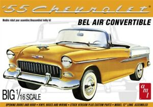 AMT-1134-1-16-1955-Chevy-Bel-Air-Convertible-Plastic-Model-Kit