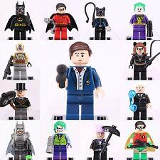 13pcs Marvel Bruce Wayne Batman Joker Cat Woman Penguin Minifigures Lego
