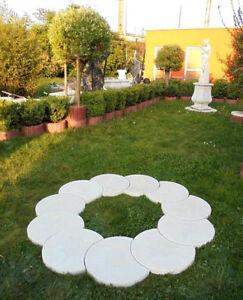 Baumumrandung Baumringe Brunnenumrandung Steinguss Gartenfiguren Gartendeko Ebay