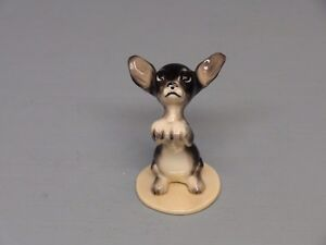Hagen Renaker DW Specialty Pedigree Brown Chihuahua Puppy Pancho Villa