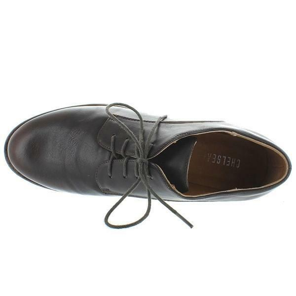Chelsea Crew Bobby - - - braun Lace-Up Flat Oxford d1c589