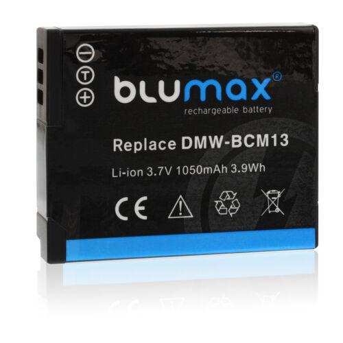 BATERIA para Panasonic dmw-bcm1365223Lumix dmc-ft5 tz41 tz58 tz61 tz71 zs30