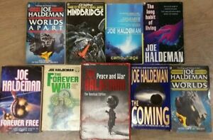 9-OUT-OF-THIS-WORLD-VARIOUS-BOOKS-by-JOE-HALDEMAN-3-25-UK-POST-PAPERBACK