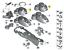 New-Genuine-MINI-R60-R61-Center-Console-Cup-Holder-Trim-Cover-9811185-OEM