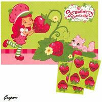 Strawberry Shortcake Birthday Party Game Activity Decoration Party Supplies