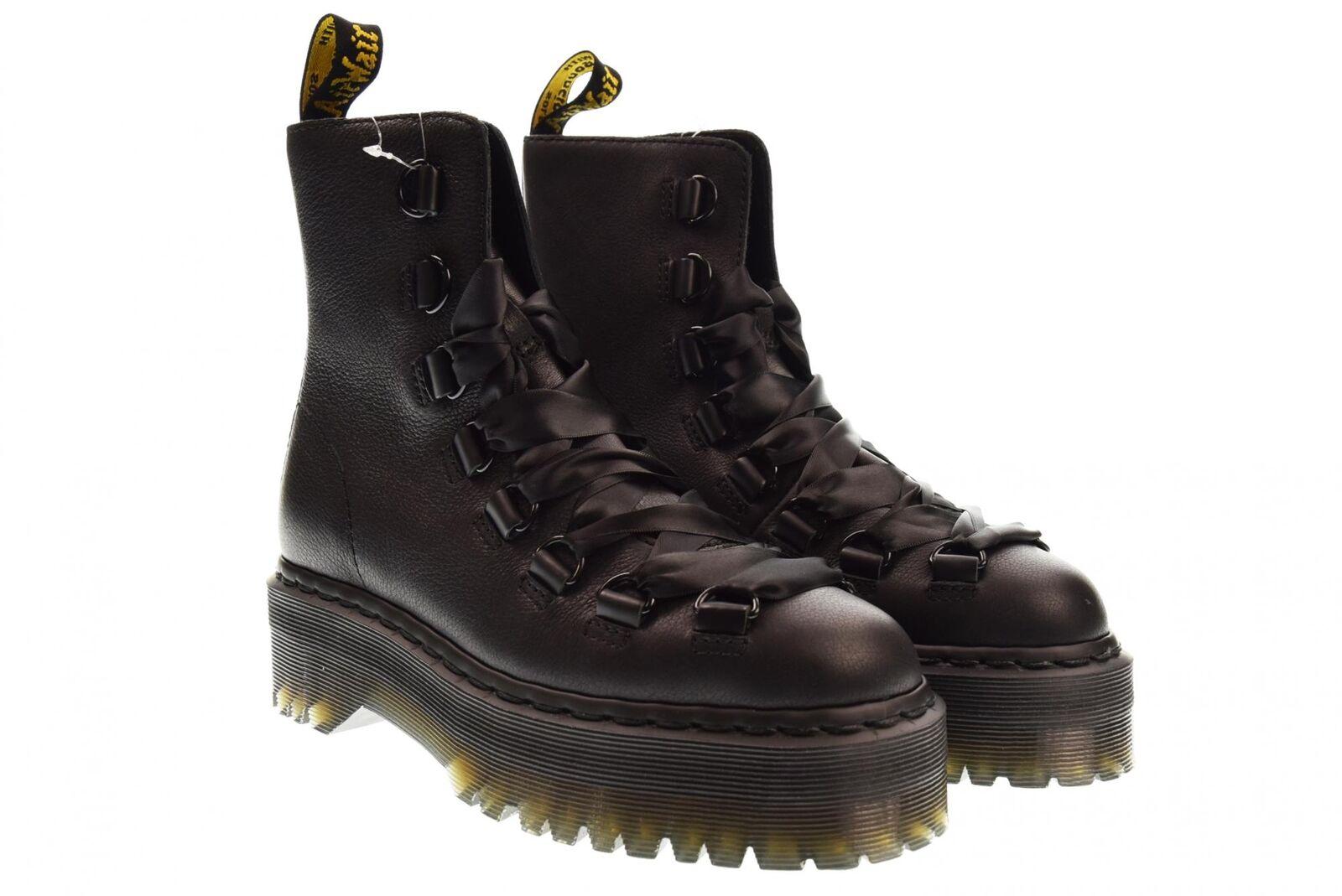 Dr.Martens scarpe donna anfibio con platform 24404033 TREVONNA PISA SMOOTH A18
