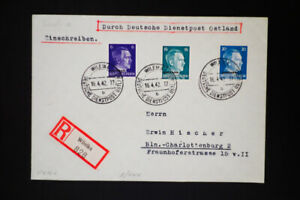 Germany-WWII-Ostland-Stamped-Covers-Lot