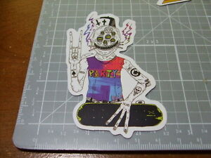PARTY-MONSTER-SKATEBOARD-Sticker-Decal-Bumper-Laptop-Actual-Pattern-NEW