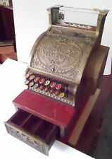 National Cash Register 1908 Red Brass Candy General Store Small Size Model R316