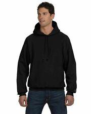 by the yard Champion 20oz reverse weave black sweater knit fabric heavyweight